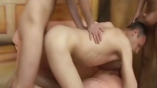 Hot cumswapping after sexy anal fuck