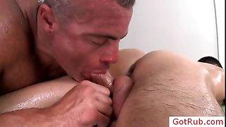Dude gets his anus rimmed part4