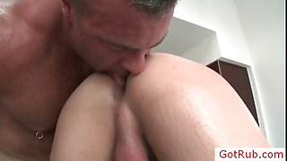 Extreme gay asshole rubbing 3 part3