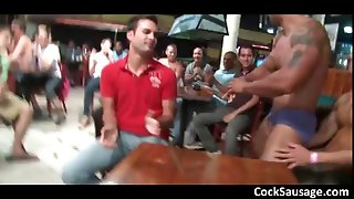 Huge group gets crazy in the club 6 part1