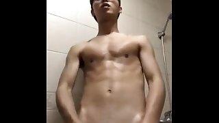 Slim Chinese multiple cum 精瘦帅哥多次射精合集