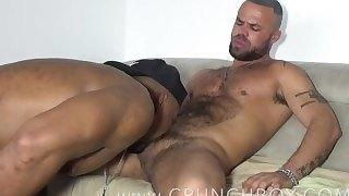 Ebony bottom fucked barebkc by DELTA KOBRA / CRUNCHBOY