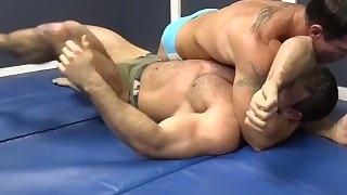 Muscle Studs Zach & Joey Wrestle