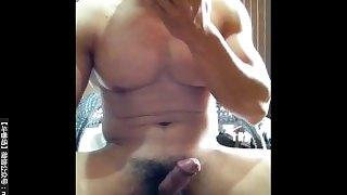 Muscle Chinese cum three times