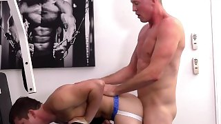 Paris Pierce Pounds the Hell out of Mickey Knox in the Gym