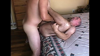 Plowing Ronnie's Ass