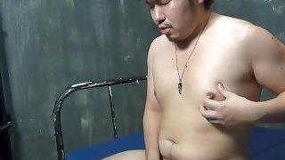 uncensored japanese bear jerk off HD