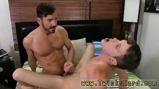 Mature shemale fuck boy gay Although muscle daddy Bryan Slater doesn't