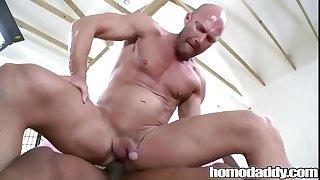 Homodaddy Huge Cock In Ass