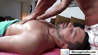 Massagecocks Oily Cock Rubbing