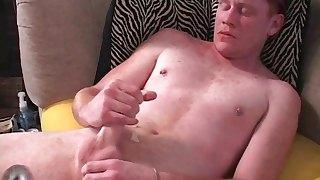 Redhard Charles wanking his nic ecock