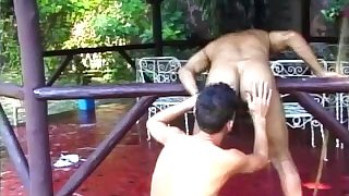 Hunky Brazilians Rimming And Blowjobs