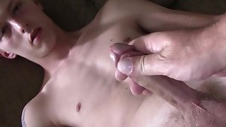 Street Bait Gets Rimmed And Nuts With Thick Daddy Cock In Virgin Asshole