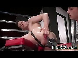 Hot young collage boys fist each other and brutal gay fisting first