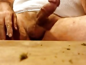 Huge dad huge dick huge cumshot