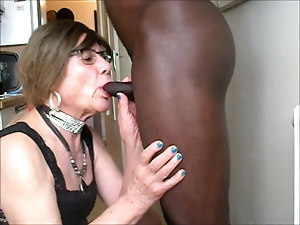 Fucked and creampied by blackman