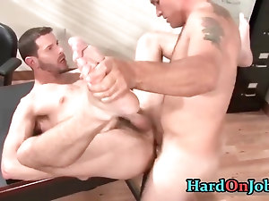 These guys are horny and hard