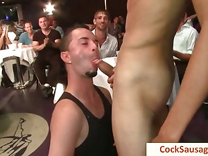 Same really hot gay blowjob party by cocksausage