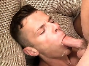Hot son oral sex with facial
