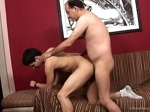 Daddy fuck a young friend